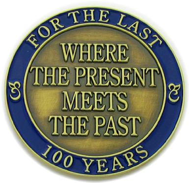 100th anniversary commemorative coin struck for Fort Smith Museum of History, reverse